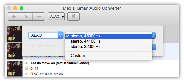 How to Convert Flac to Alac?