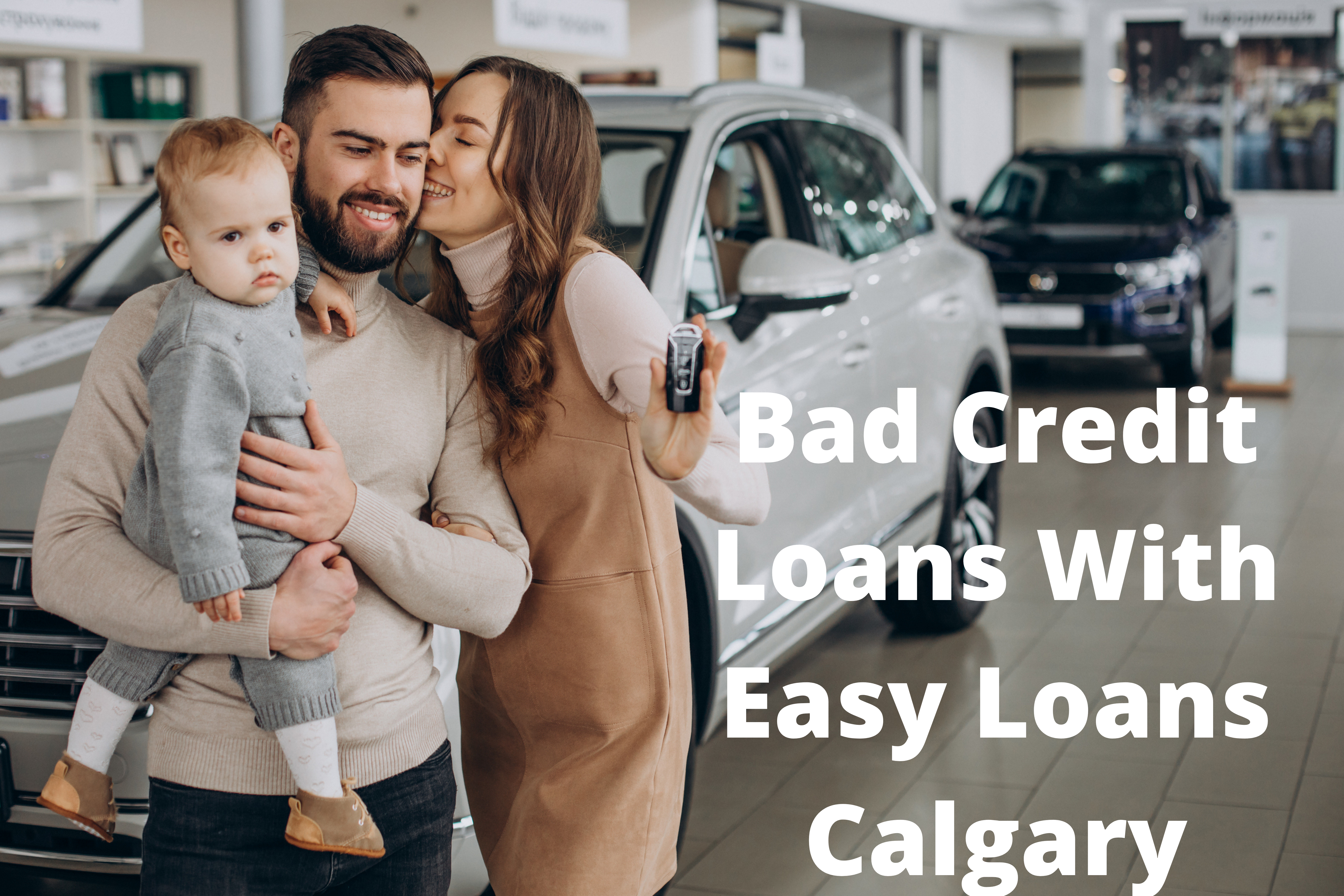Get Bad Credit Loans With Easy Loans Calgary.