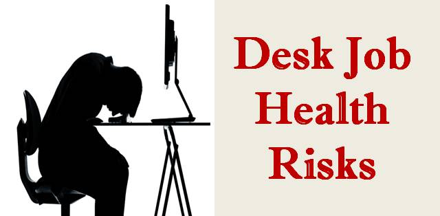 How Desk Job Is Create A Health Problem In Men